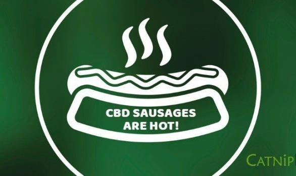 CBD Sausages are Hot!