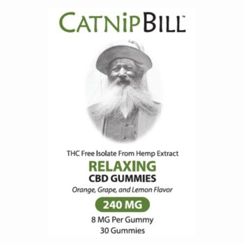 Catnip Bill CBD Gummies 240mg 30ct