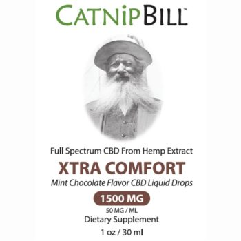 Catnip Bill Mint Chocolate Flavor CBD Oil 1500mg