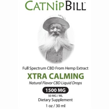 Catnip Bill Natural Flavor CBD Oil 1500mg