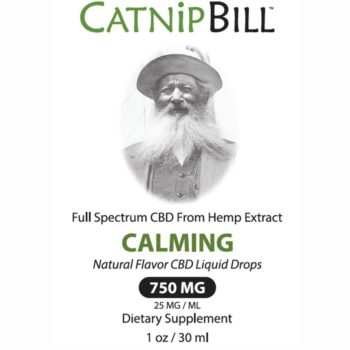 Catnip Bill Natural Flavor CBD Oil 750mg