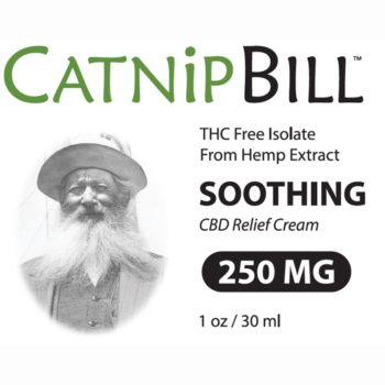 Catnip Bill CBD Skin Cream 1oz